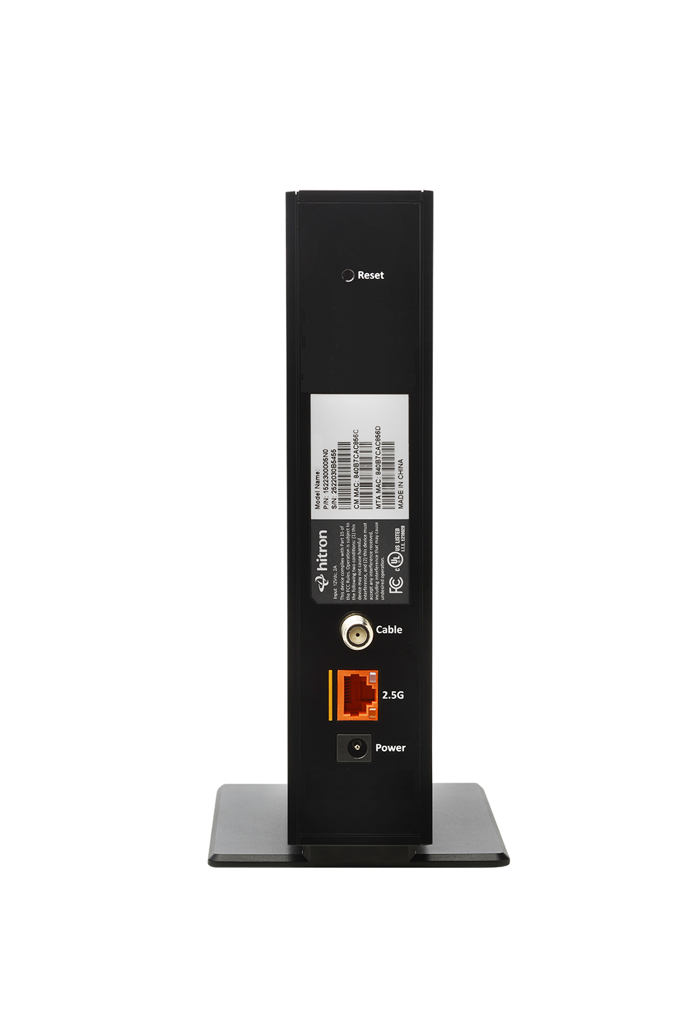 DOCSIS 3.1 Cable Modem from Hitron - CODA57